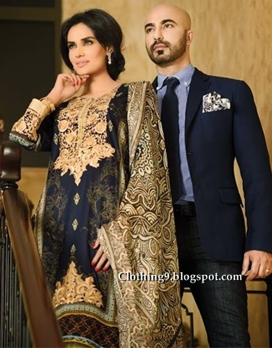 HSY Ittehad Lawn 2015