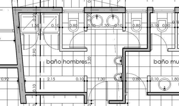 Dibujo t cnico for Representacion grafica de planos arquitectonicos