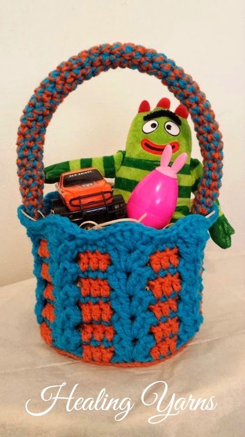 Free Pattern Crochet Easter Basket : My Hobby Is Crochet: Crochet Baskets great for Easter ...