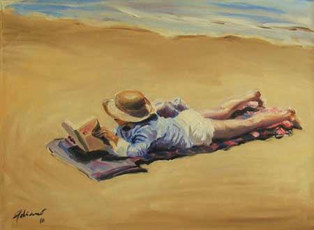 <<<<< *Solsticio de Verano* >>>>> - Página 2 Leyendo+en+la+playa