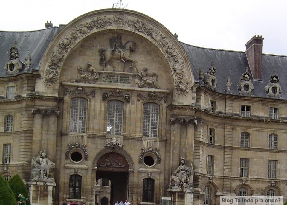 Invalides e Museu do Exército - Paris