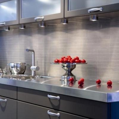 Nordisk interiør inspirasjon: Fliser på kjøkkenet ?