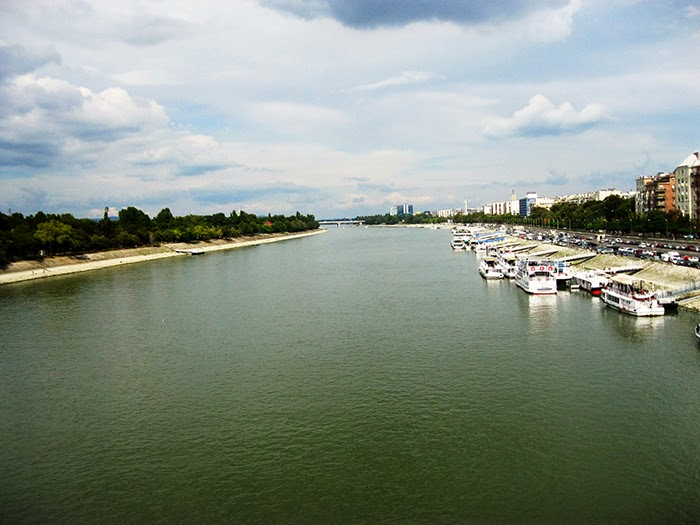 Budapest water river Duna Sziget