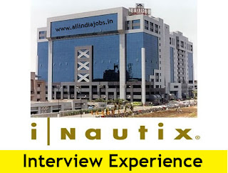 iNautix Interview Experience