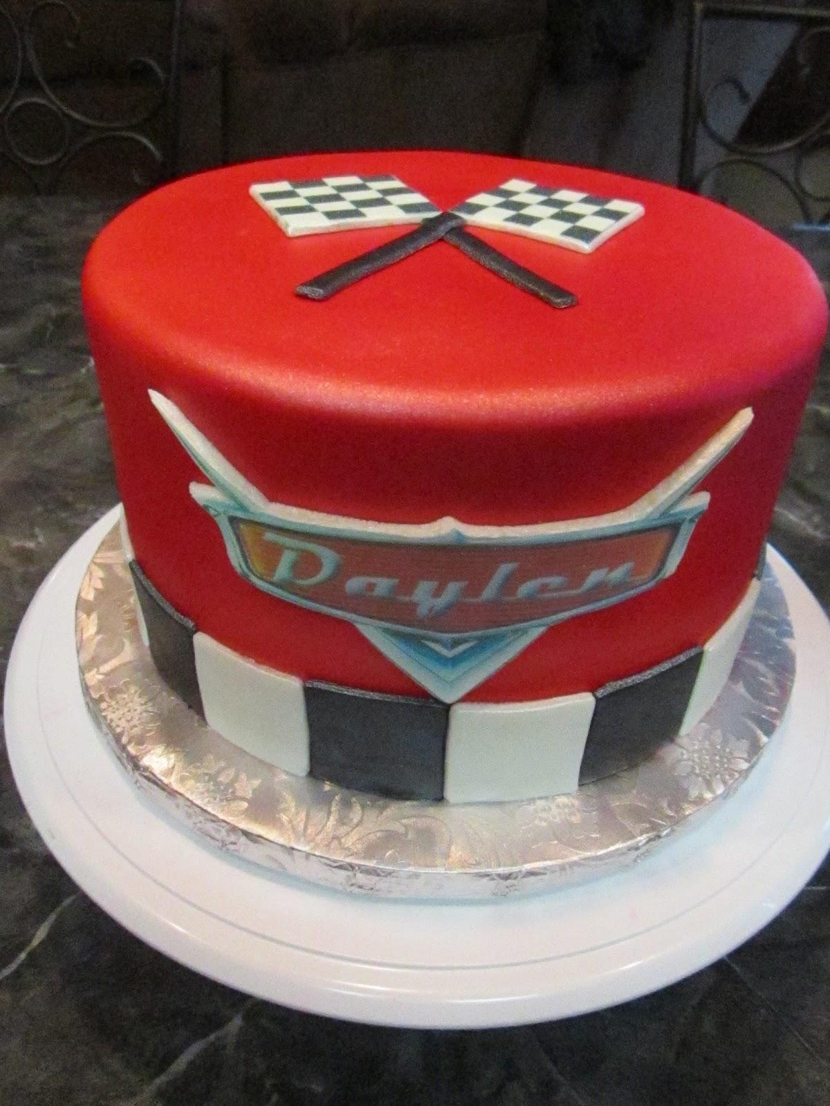 Disney Cars Cake Images : MyMoniCakes: Disney Pixar s Cars Cake