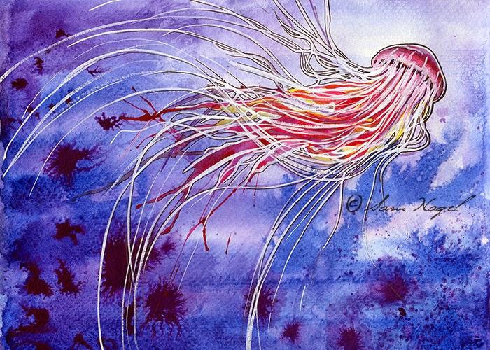 https://www.etsy.com/listing/213225774/medusa-jellyfish-print