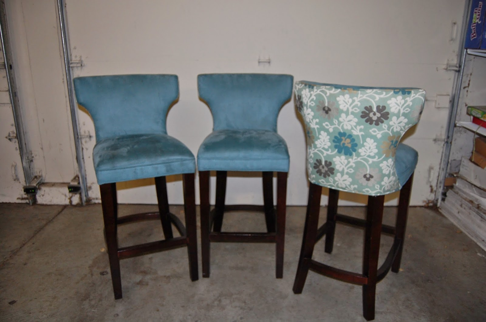 Items for sale: Bar Stools & Curved Bench -- $400