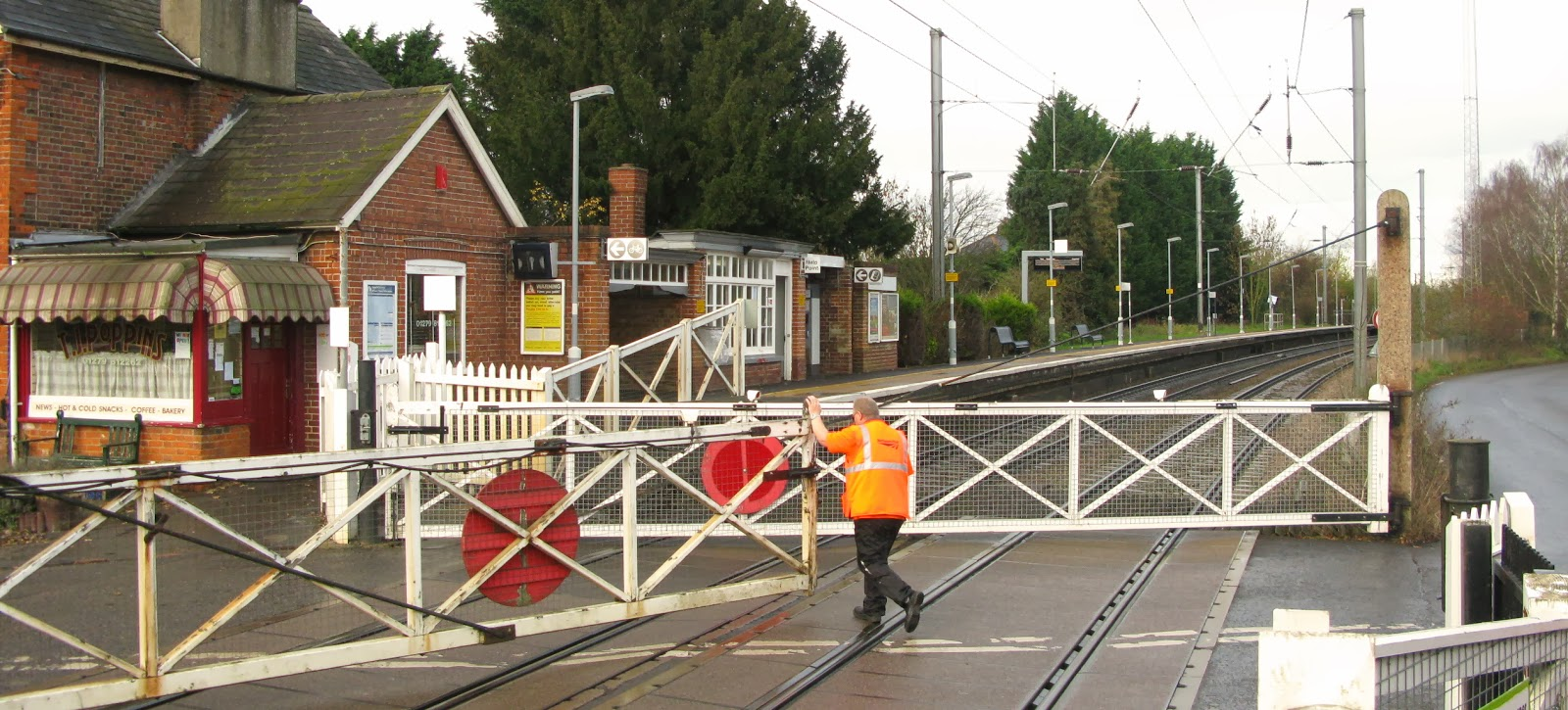 Paul coleman s london intelligence level crossing safety