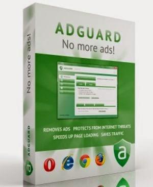 Adguard работает незаметно, не только очищая веб-сайты от рекламы, но также