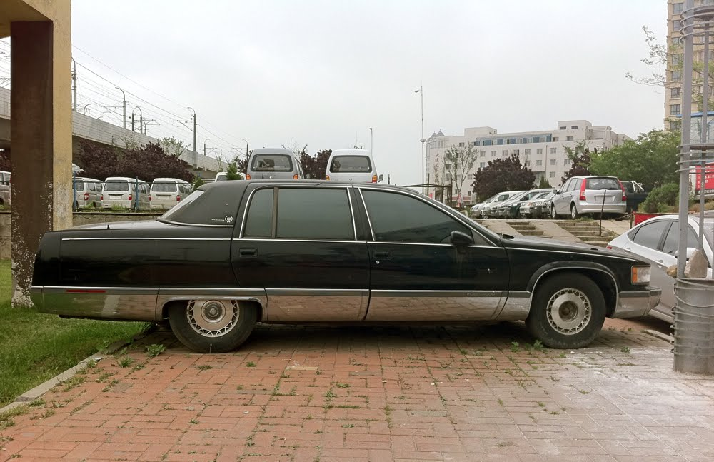 old parked cars china bonus 1993 cadillac fleetwood brougham. Cars Review. Best American Auto & Cars Review