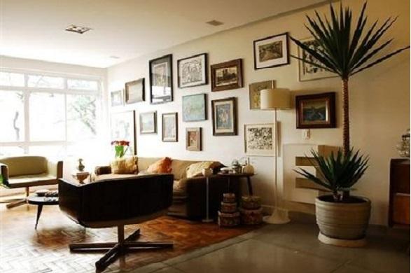 Como colocar quadros na parede