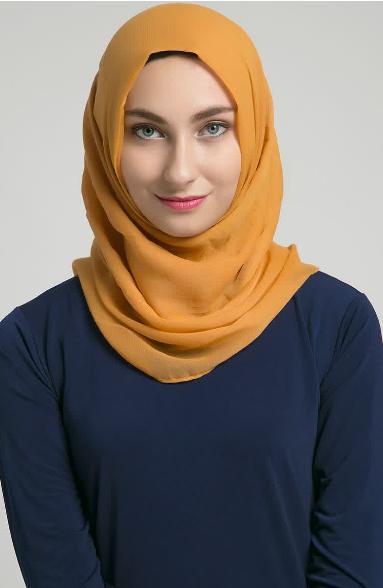 Kreasi Hijab Modern Segi Empat Terbaru