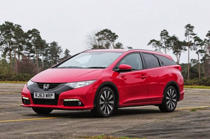 Honda Civic Tourer diesel 2014 review (not for North America