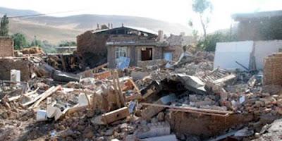 MAS DE 80 REPLICAS TRAS TERREMOTO DE 6,3 GRADOS EN IRAN, 10 de Abril de 2013
