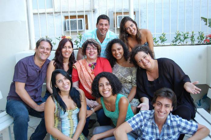 Alunos da CAP entrevistam a atriz Lucia Alves