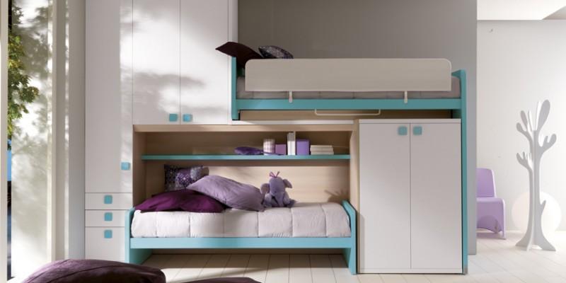 Bonetti camerette bonetti bedrooms doimo city line - Camerette bambini piccoli spazi ...