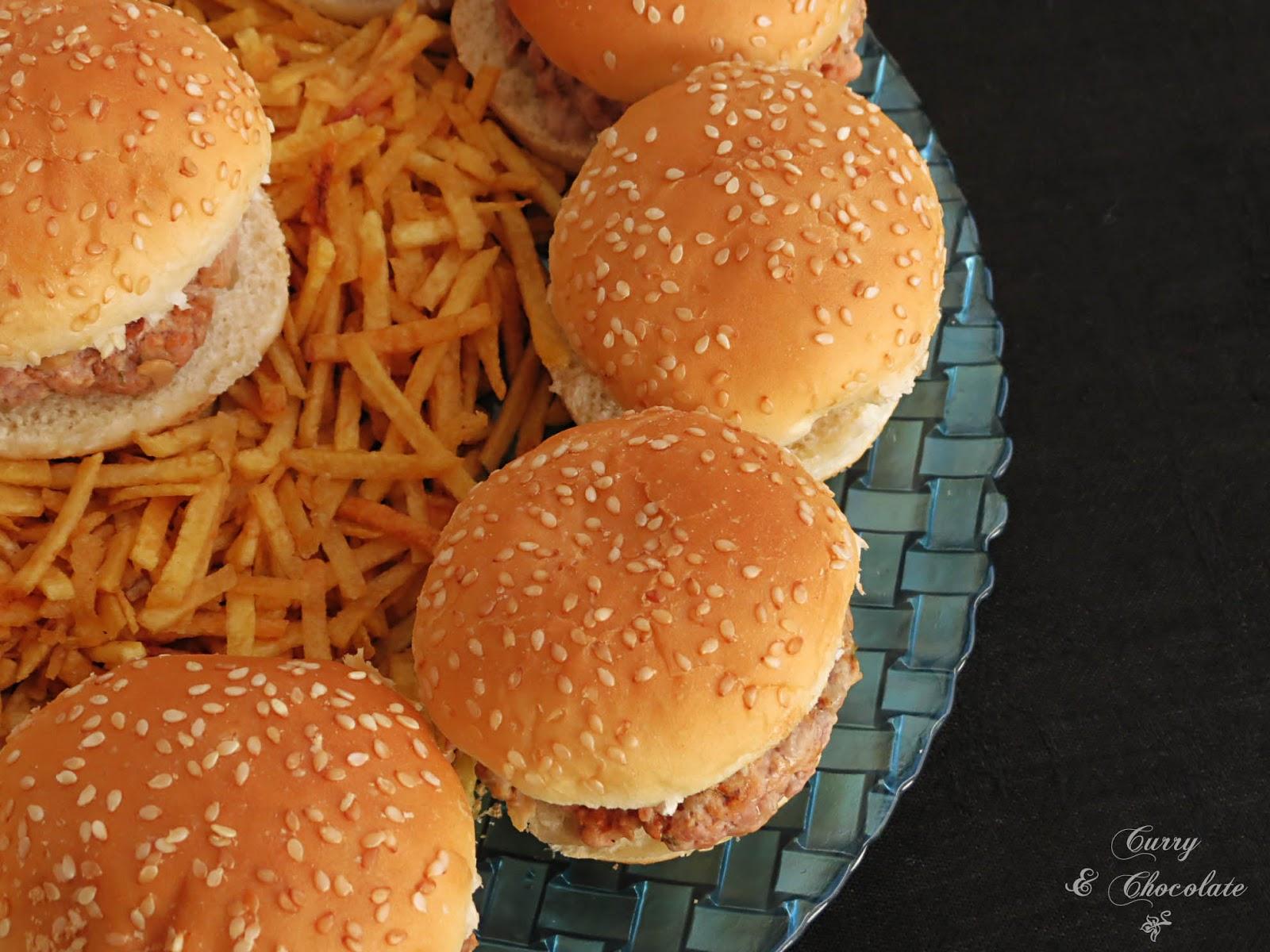 "Hamburguesas de picadillo o ""masitas"" a mi estilo – Paprika burgers"