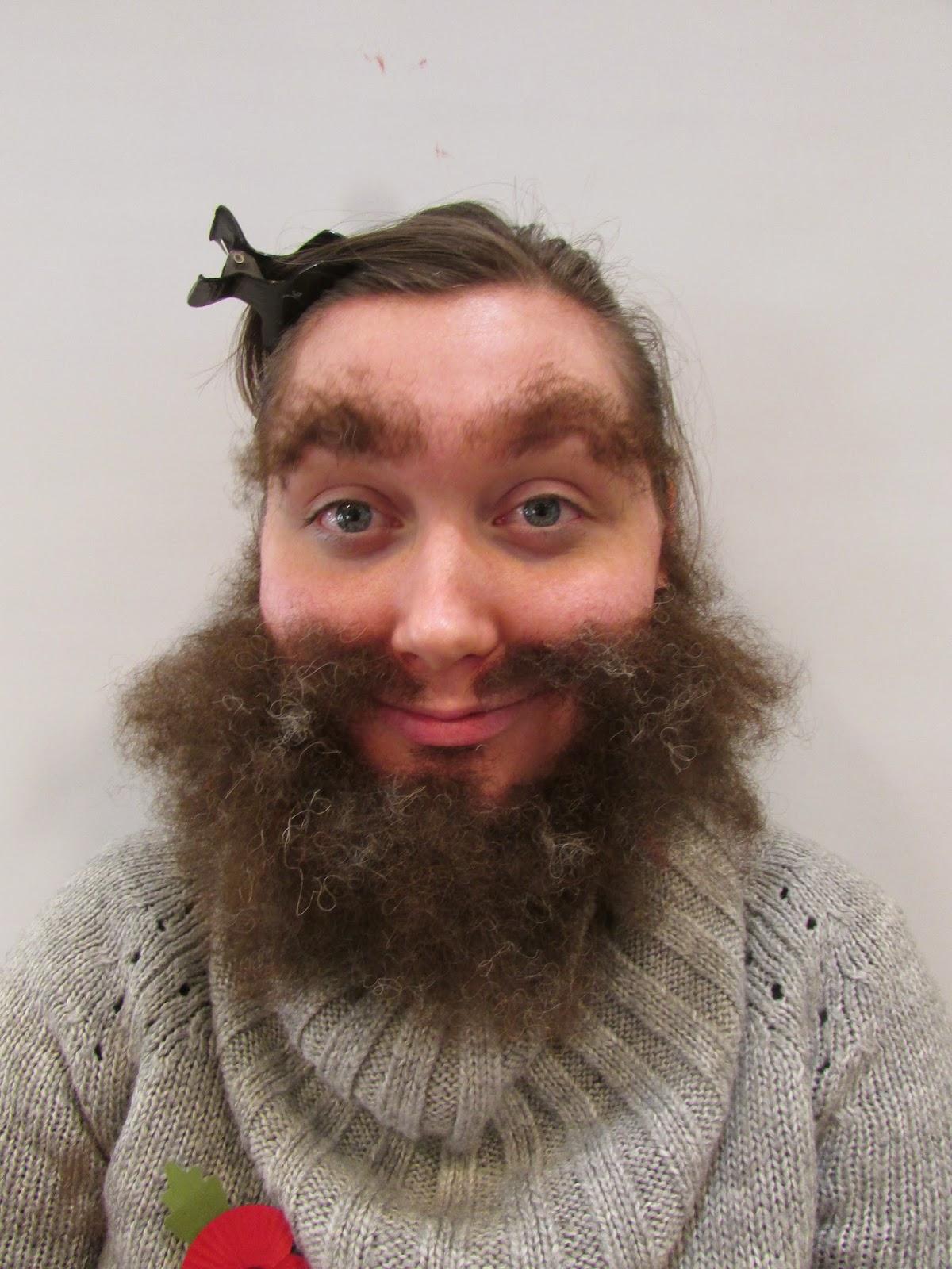 Natasha Oxtoby Bushy Beard And Brows X2