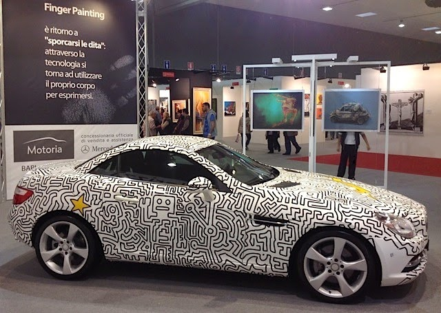 Mercedes-Benz SLK - How does an Artist Work