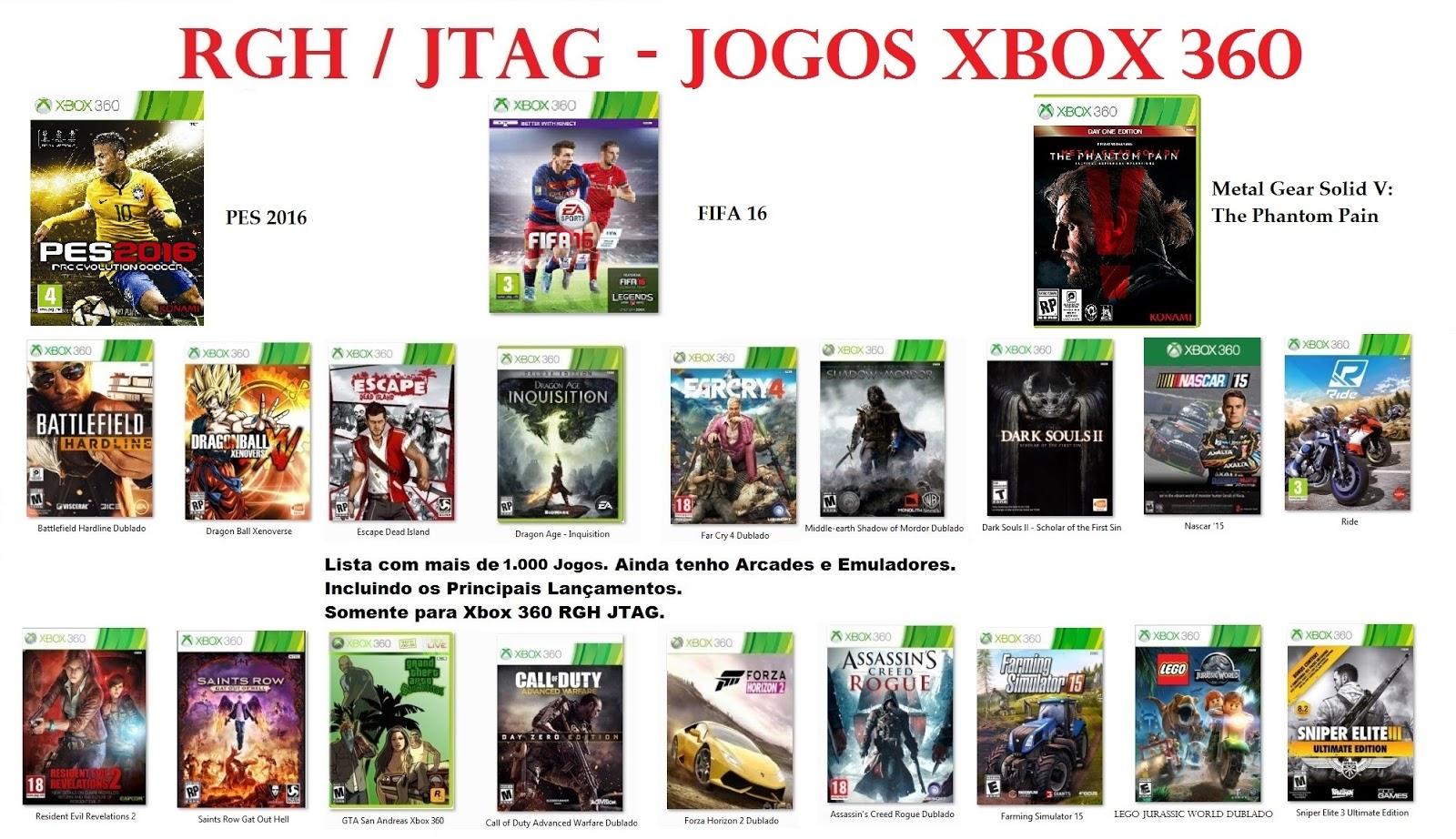 HD PARA XBOX 360 RGH / JTAG: Dica de Jogos infantis
