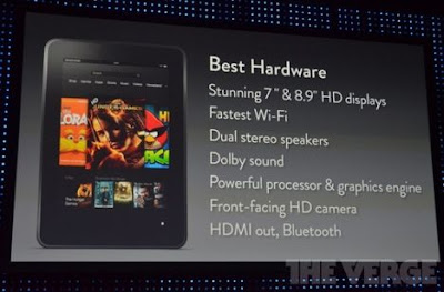 KINDLE FIRE HD WITH HD DISPLAY