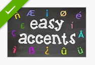 how to get accents on letters in google docs