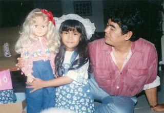 foto anisa chibi sewaktu masih kecil