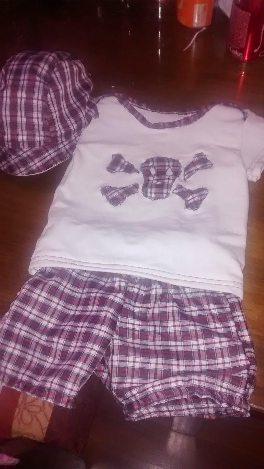 patron ropa de bebe