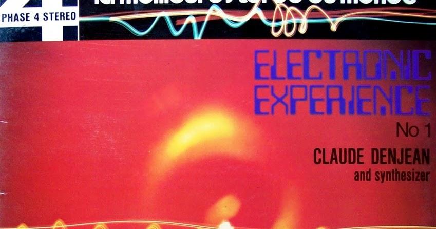 le bon craignos claude denjean electronic experience n 1 1970. Black Bedroom Furniture Sets. Home Design Ideas
