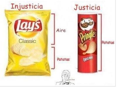 JUSTICIA EN CAJA O BOLSA