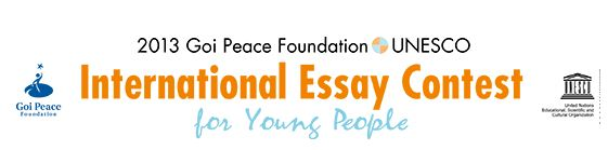 international essay contest for young people 2012 The goi foundation is organizing annual essay contest with an effort to harness the energy, creativity and initiative international essay contest for young people.