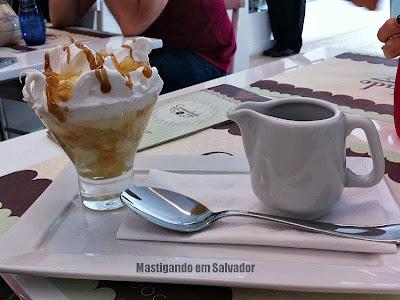 Granulado Café & Bistrô: Torta na Taça sabor Abacaxi
