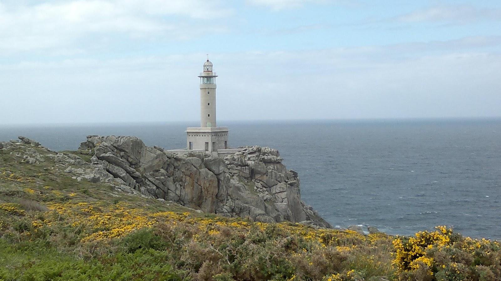 Faro en Punta Nariga en Malpica de Bergantiños