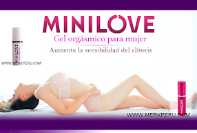 Mini Love, gel orgásmico!
