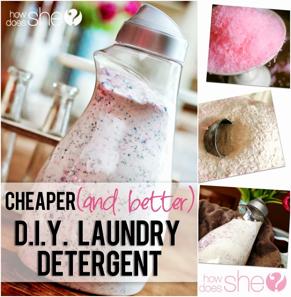 Cheaper AND Better, DIY Laundry Detergent