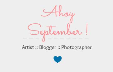 * Ahoy September ! *