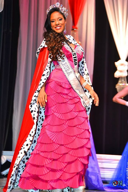 Miss Srta. Aruba 2013 winner Erialda Croes