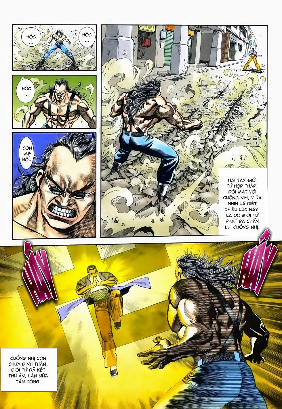 Long Hổ Phong Bạo chap 3 - Trang 19