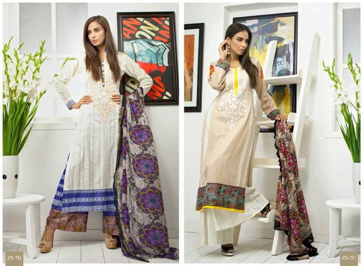 Pehnawa+Eid+Dress+Latest+Collection+by+ZS+Textiles+(2) Latest Pehnawa Eid Dresses by ZS Textiles