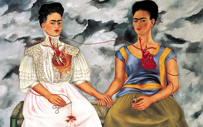 L'opera di Frida Kahlo le due Frida, una amata, l'altra no