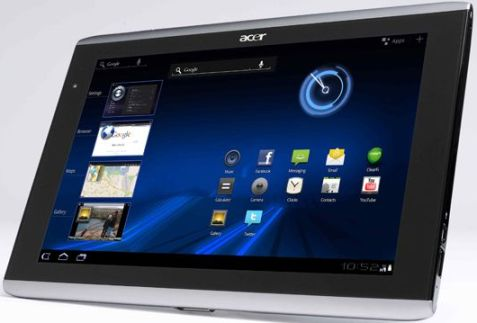 Acer Iconia Tab A500 - Tablet Android Honeycomb Terbaik di Indonesia