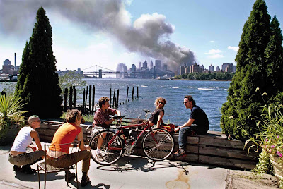 Foto Kontroversial tragedi 9/11, 11 September 2001