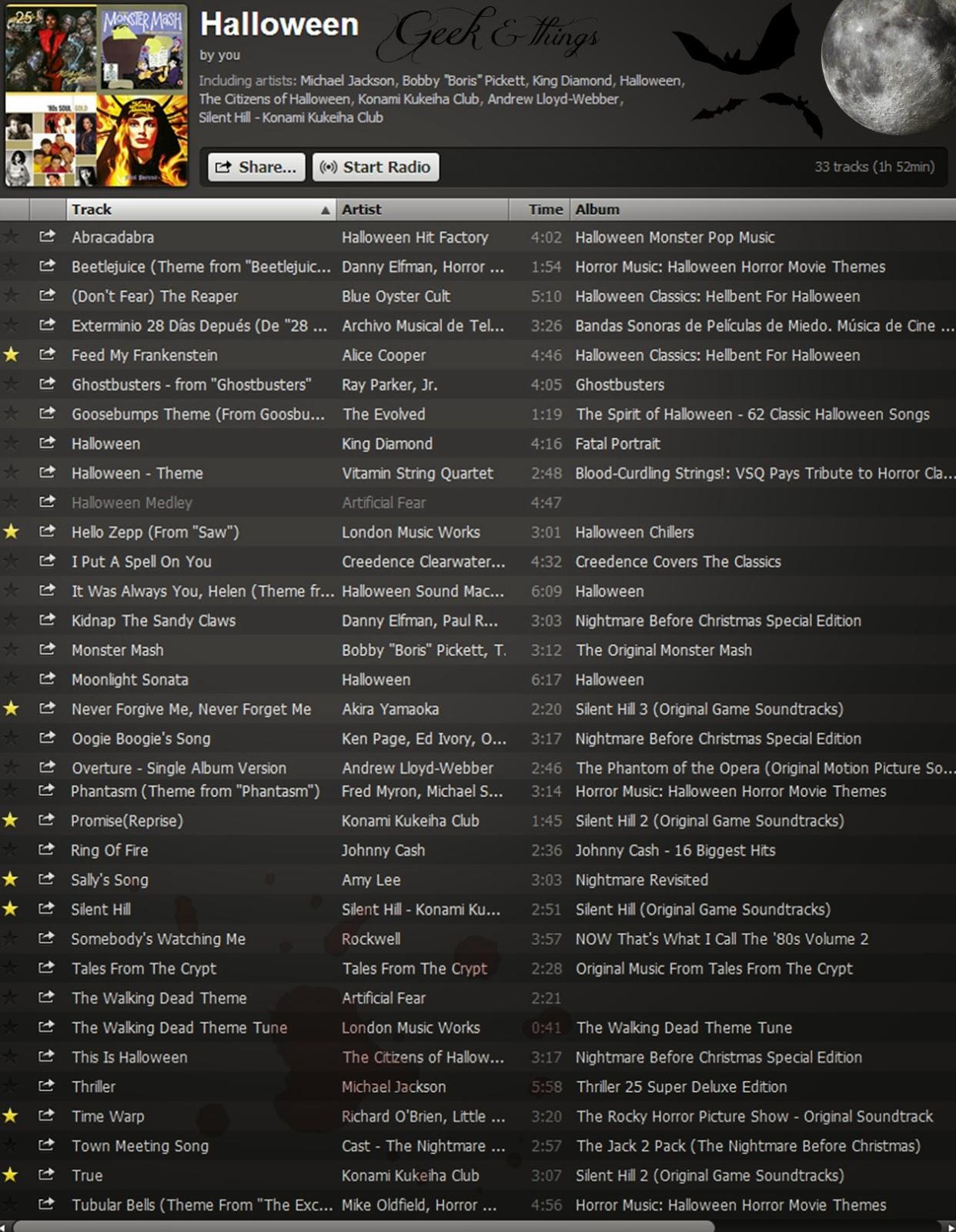 Songa Music Playlist