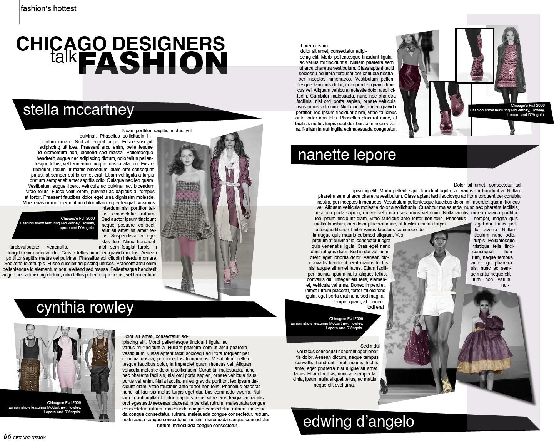 Graphics Blog Fashion Magazines