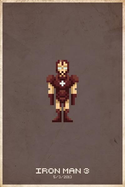 8-bit Iron Man