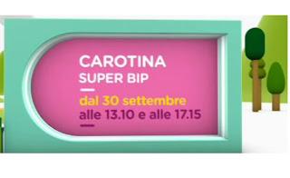 carotina super bip : la nuova serie televisiva in onda  dal 30 settembre su nick jr.