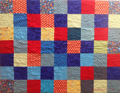 Project Linus Quilt longarm quilting