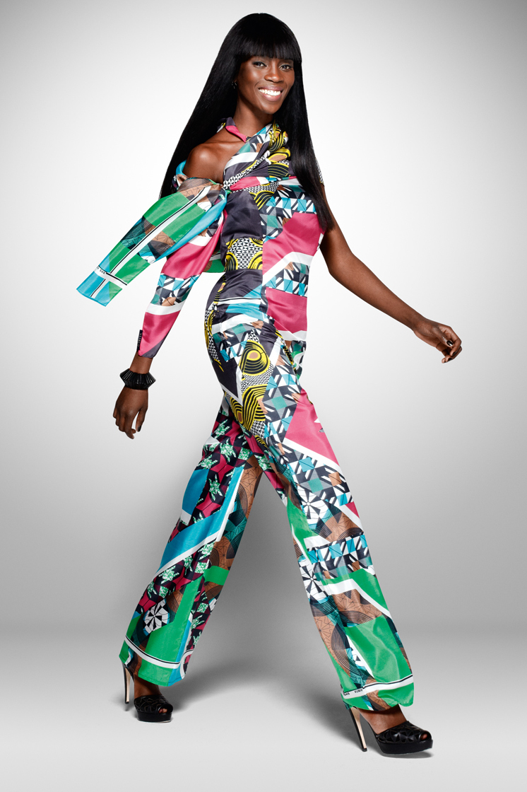 Vlisco new collection dazzling graphics ciaafrique african fashion beauty style Ciaafrique fashion beauty style