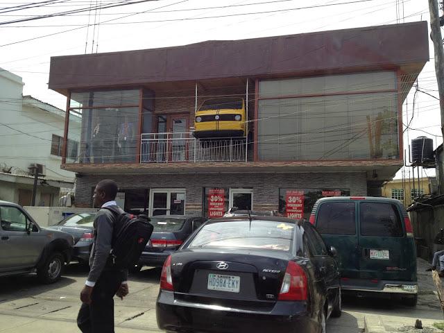 Clothing store in Lagos, Nigeria