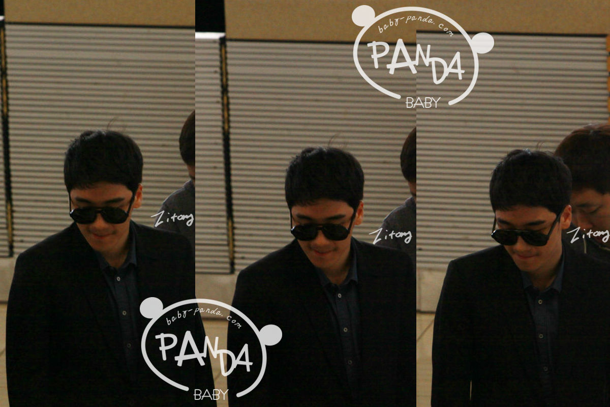Seungri Photos The-panda-is-at-the-airport-going-to-ilbon